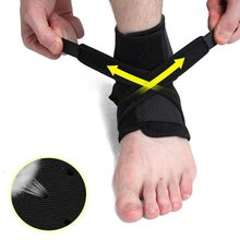 Breathable pressure guarding ankle sprain protection warm ankle entanglement double strap protector foot OK cloth