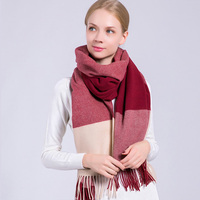 High Quality Wool Scarf For Ladies Selected Thick Australia Cashmere Winter Scarf Long Blanket Ladies Scarves