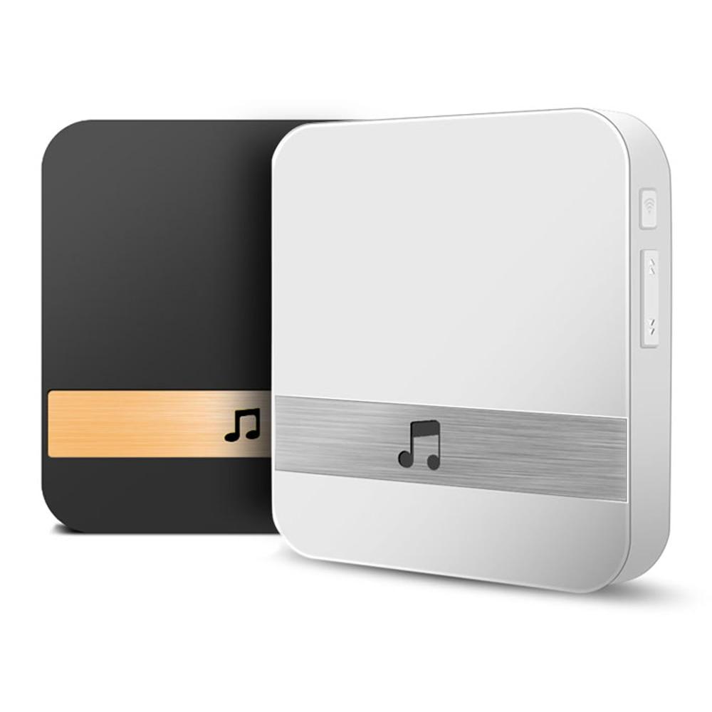 WiFi Video Door Bell Chime Smart Indoor Doorbell Wireless Receiver AC 90-250V US EU UK AU Plug