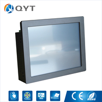 Manufacturer Newest Design Intel N2807 1 6GHz Fanless 10 4 Inch Industrial Touch Computer Suppors Win7