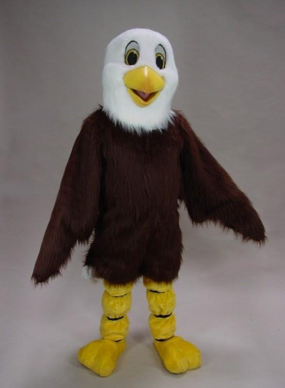 Promotion qualité mascotte aigle mascotte Costume adulte dessin animé personnage tenue Costume fantaisie robe pour fête carnaval livraison gratuite