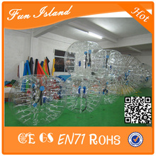 Free Shipping Hot Sale Inflatable Football Suit,Inflatable Zorbing Bumper Balls,Bubble Soccer Ball