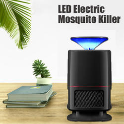 Оптические носители светодиодный Электрический москитная убийца USB Fly мухобойка лампы ловушки репелленты домашний сад вредителей