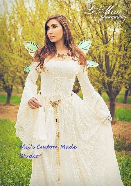 gwendolyn medieval o renacimiento de hadas vestido y traje de