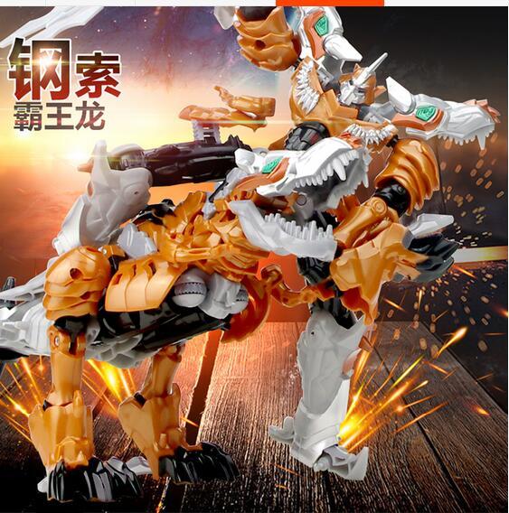 ФОТО Rescue Bots Transformation Figures Toys Tarbosaurus bataar dinosaur King Kong model toys rescue car