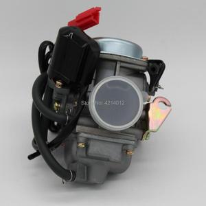 Image 4 - 좋은 품질 새로운 gy6 125 150cc 오토바이 기화기 카바 바하 스쿠터 atv 이동 카트 스쿠터 125cc pd24j 오토바이 부품