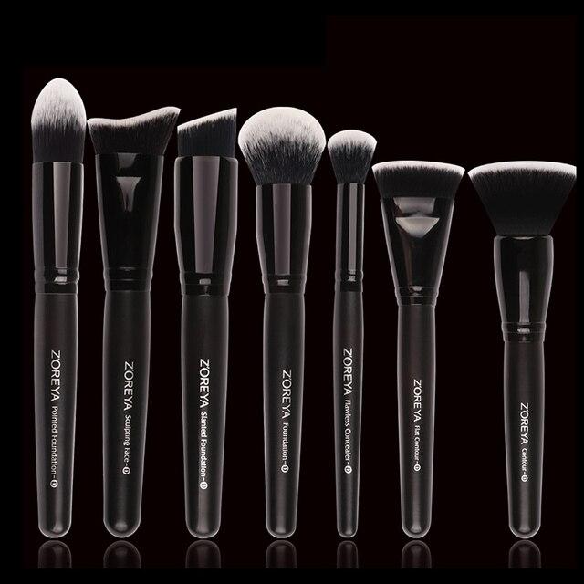 2018 Professional 7Pcs Makeup Brushes Set Women Cosmetic ...