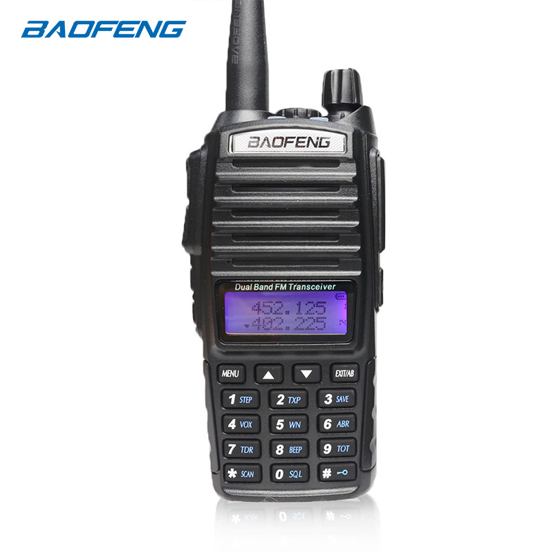Baofeng UV-82 Walkie Talkie 10km  Two Way Radio Dual Band FM Transceiver