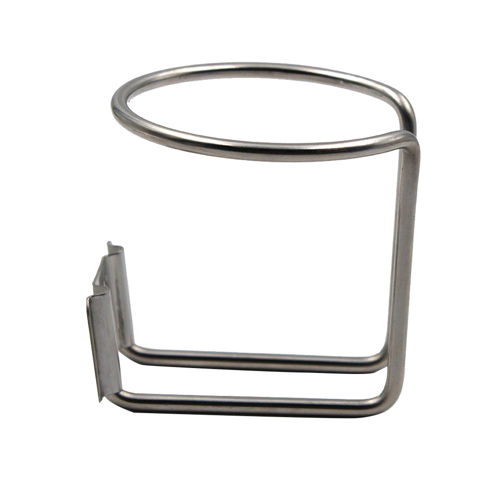 Car Ring Cup Holder Stainless Steel Water Drink Beverage Bottle Stand RV Truck Accessories Coasters Water Bottle on The Stroller in Drinks Holders from Automobiles Motorcycles
