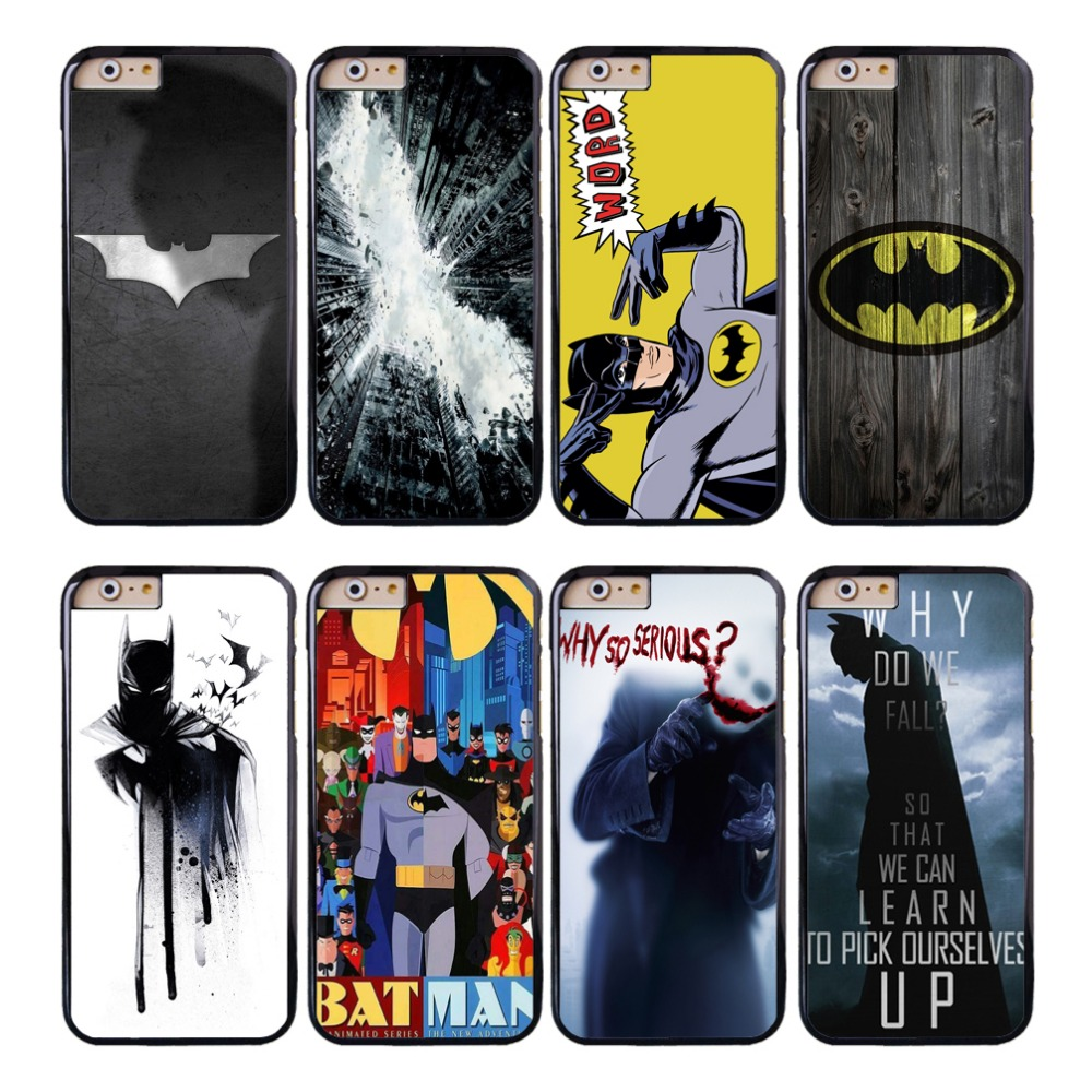 buy coque superhero batman capa phone cases for iphone 5s 6 7 6s plus se 5c 5 4s 4 cover for. Black Bedroom Furniture Sets. Home Design Ideas