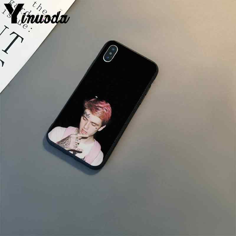 Yinuoda Lil Peep Lil Bo Peep Cao Cấp Thiết Kế Độc Đáo Ốp Điện Thoại Cho IPhone8 7 6 6S 6S Plus X XSMAX 5 5S SE XR Cover 11 11pro 11Promax