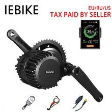 48 в 1000 Вт двигатель bafang комплект BBSHD BBS03 Mid Drive Электрический двигатель для Велосипедный спорт цикл велосипед велосипеды; комплект для переоборудования