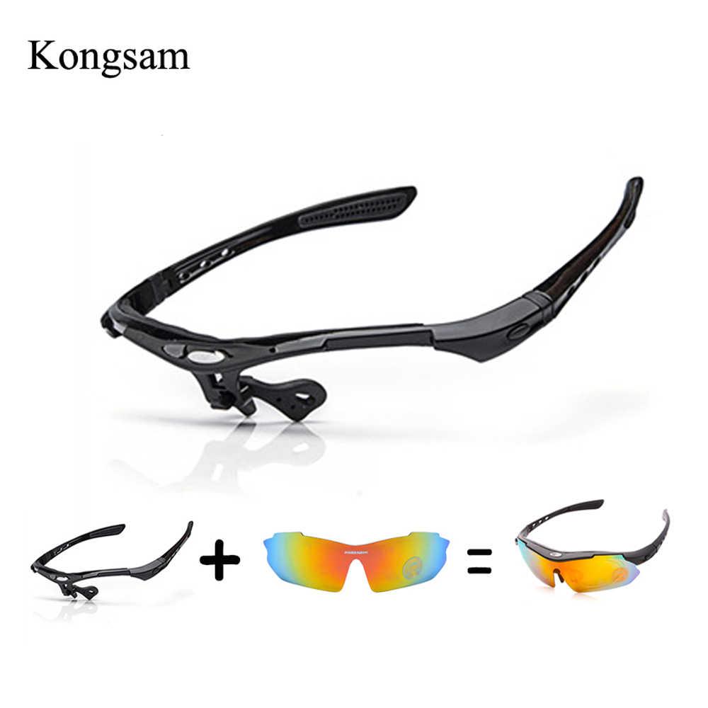 925c7904444 Cycling Glasses Frame Polarized Sunglasses Frame Lens Men DIY UV400 Polarized  Bicycle Eyewear Outdoor Sports
