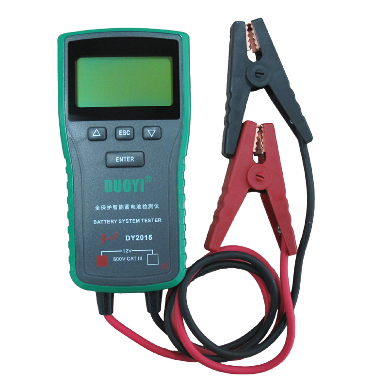 Car Battery System : Dy v car battery system tester capacity maximum