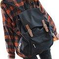 Moda Unisex Vintage Casual Mochila de Lona del bolso de escuela grande Mochila trolley Bolsa de 4 Colores de fiesta venta al por mayor 4-YHZ252