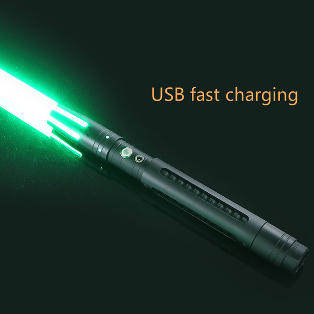 100cm 11 Color Lightsaber Metal Sword RGB Laser Cosplay Boy Gril Toy Flashing For Kids Gift