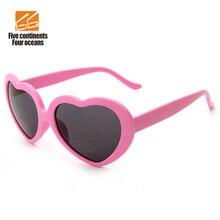 Урожай в форме сердца солнцезащитные очки женщины отражающая конфеты цвет мода женщина солнцезащитные очки мужчины зеркало occhiali-да-единственным Gafas Mujer