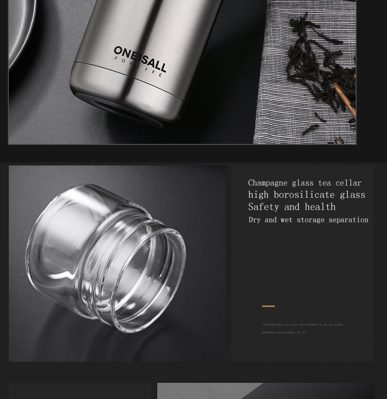 HTB15DPrNHvpK1RjSZFqq6AXUVXaG Thermos Bottle Stainless Steel Tea Partition Thermo Cup Glass Tea Strainer Thermos Mug Bottle Vacuum flask Bottles 400ml + 200ml