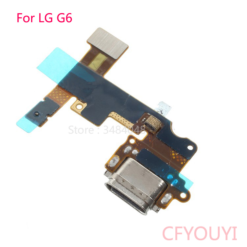 For LG G6 H870 Type C Charging Port Charger Dock With Microphone Module Flex Cable
