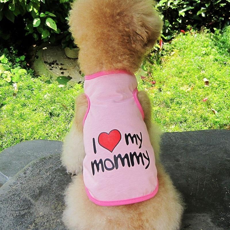52c6d215178 Os Recém-chegados Verão Coletes À Prova de Cão T-Shirt Roupas Casaco  Filhote de Cachorro Do Gato do animal de Estimação 100% Algodão Bonito  Colete Roupas ...
