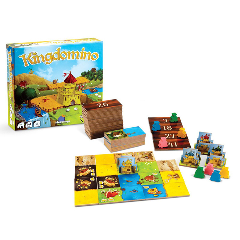 все цены на Kingdomino Board Game For Party Board Game Send English Instructions