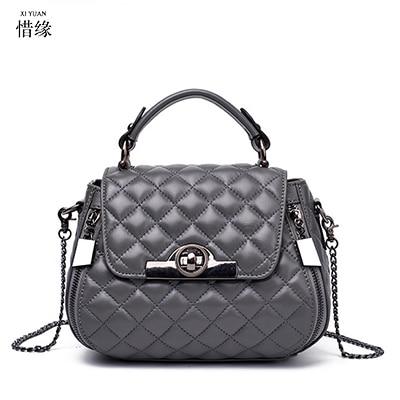 XIYUAN BRAND Women sheepskin Shoulder Bag Women's Handbags female Messenger Bags lady Designer Crossbody Bag For lady red/purple