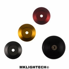 MKLIGHTECH  Motorcycle CNC Left Front Wheel Cap For VESPA GTS 150 300 SEPER SPRINT 125 PRIMAVERA