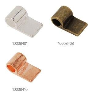Прямоугольные бруски размером 17x10 мм, приклеивающиеся к подвеске бруски для ювелирных изделий, покрытые цинковым сплавом, 50 шт./лот-100084