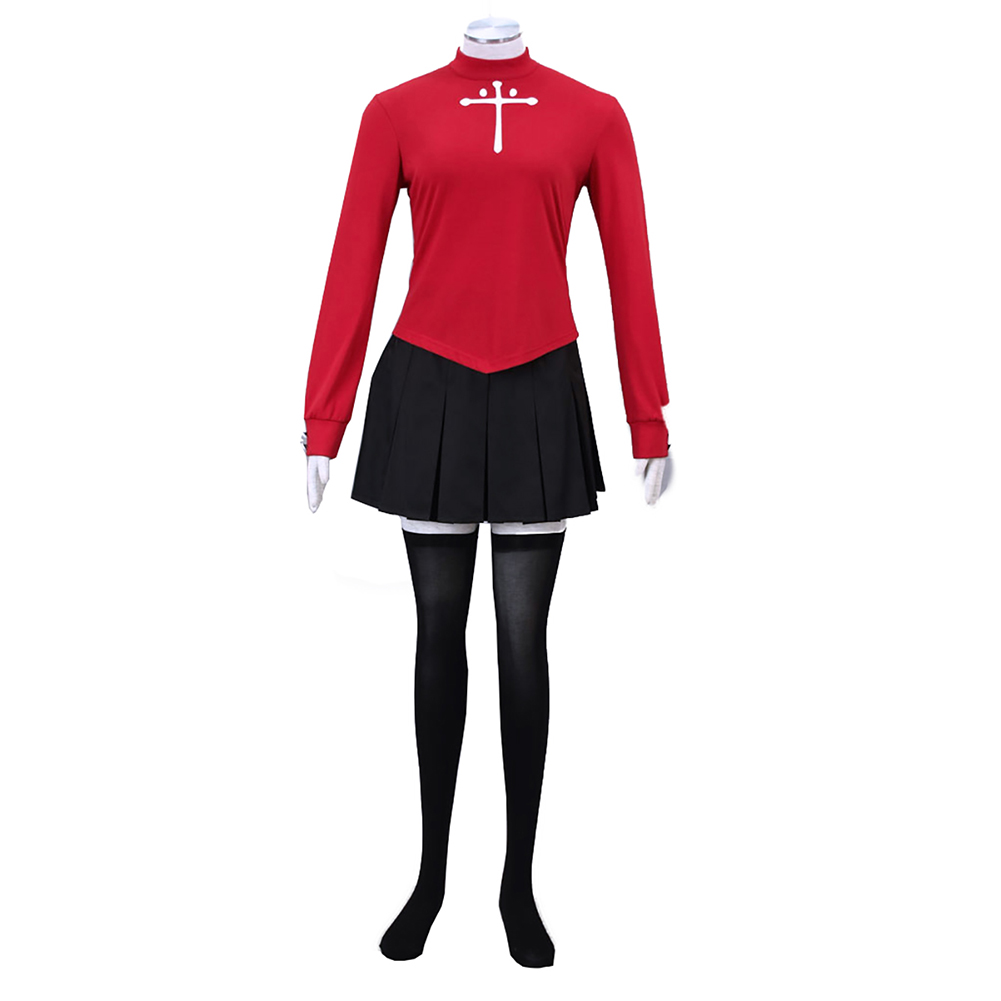 brdwn The Holy Grail War Fate stay night zero Tohsaka Rin Cosplay Costume Suit ...