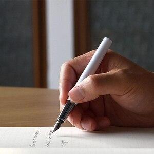 Image 5 - Original Youpin Kaco BRIO Fountain ปากกาโลหะปากกาสองหมึกชลประทานวิธีติดตั้ง SCHMIDT Ink ABSORBER ของขวัญกล่อง