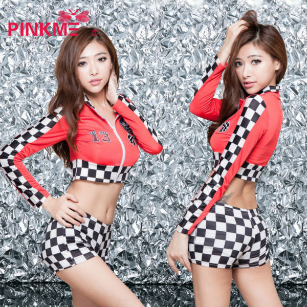 Sexy Uniforms Race Car Driver Halloween Costumes For Women COSPLAY Sex Game Clothing Clo ...