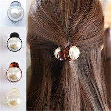 1 pc Girls Pearl Mini 1PC Hair Claw Barrettes Women Hair Cra