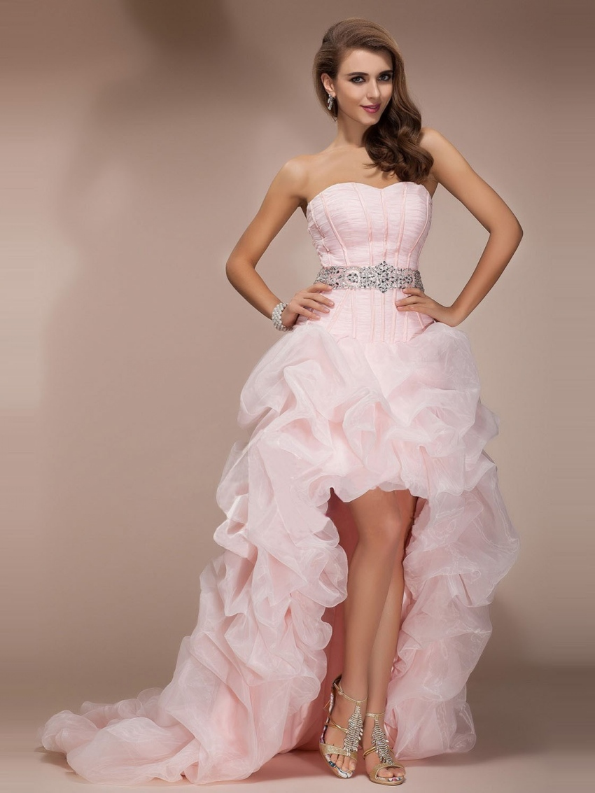 Online Buy Wholesale light pink prom dresses from China light pink ...