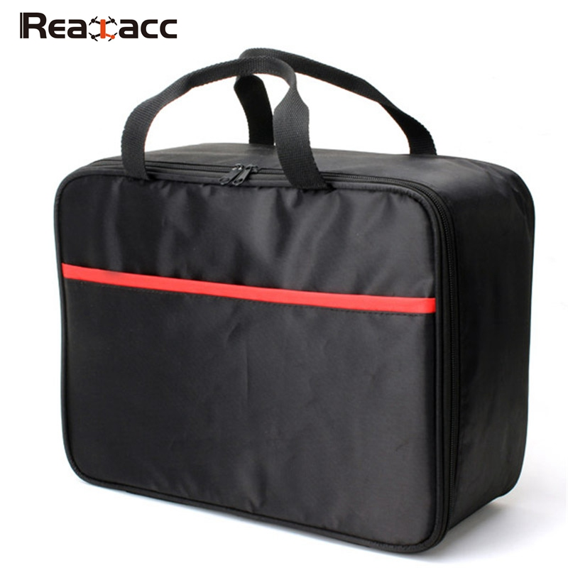 Realacc Portable Handbag Backpack Carrying Case Bag Box Black for Syma X5C X5S X5SW RC Drones FPV Quadcopter Toys Outdoor DIY rc dji mavic pro professional waterproof drone bag hardshell portable case handbag backpack battery charger storage bag
