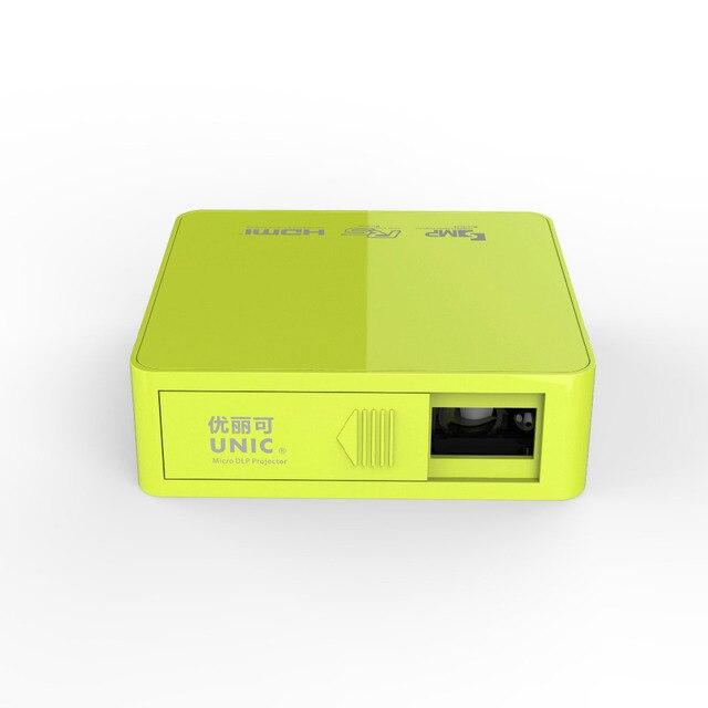 Original Unic UC50 DLP mini Projector Full HD 1080P Home theater projecting camera LED video home Multimedia VideoUC40 UC30