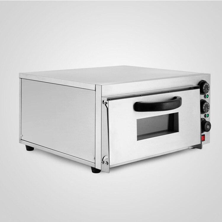 Conservação de energia Moderna Design Forno de Pizza Deck Single 2kW Cozimento Elétrica Comercial