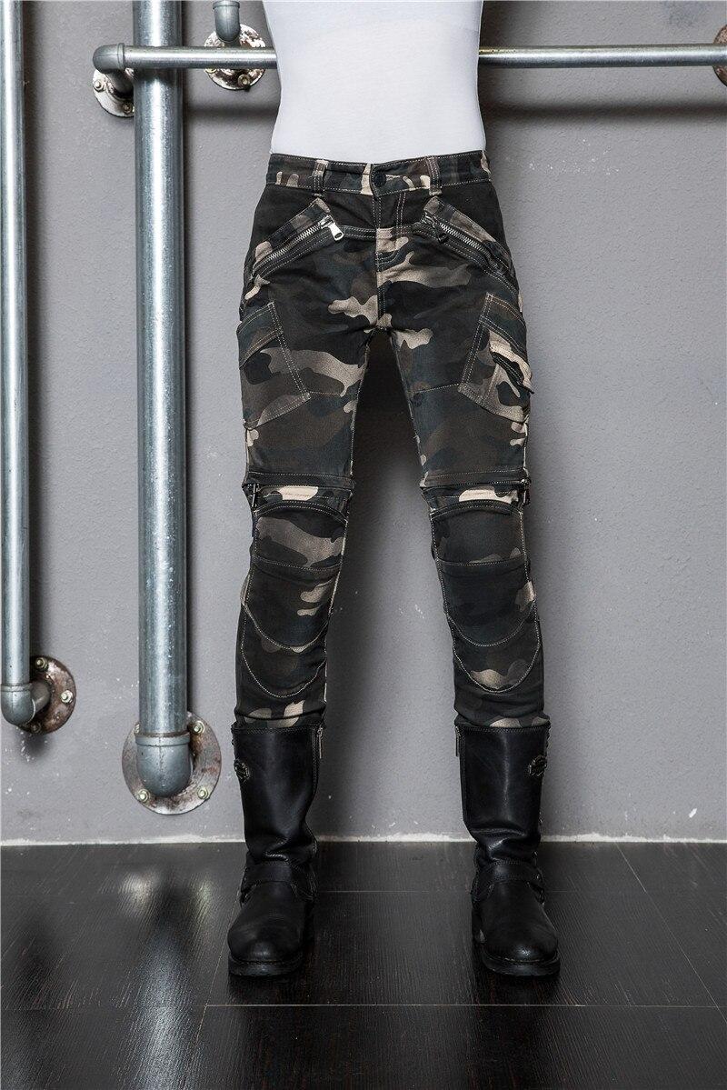 Bikers Gear Rock et rouleau de cuir de vache pour femme Pantalon de moto Premier taille XL Noir