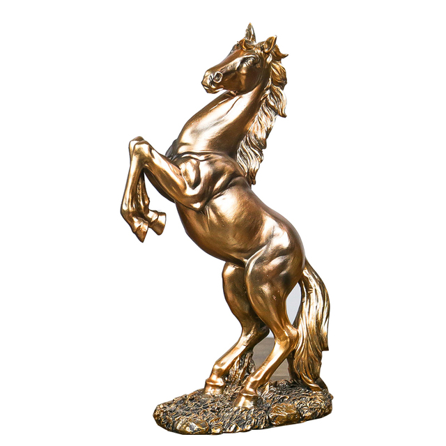 2018 New Nostalgic Horse Statues Figurines Ornaments Horses Crafts Home Decoration Accessories Creative Business Wedding Gifts