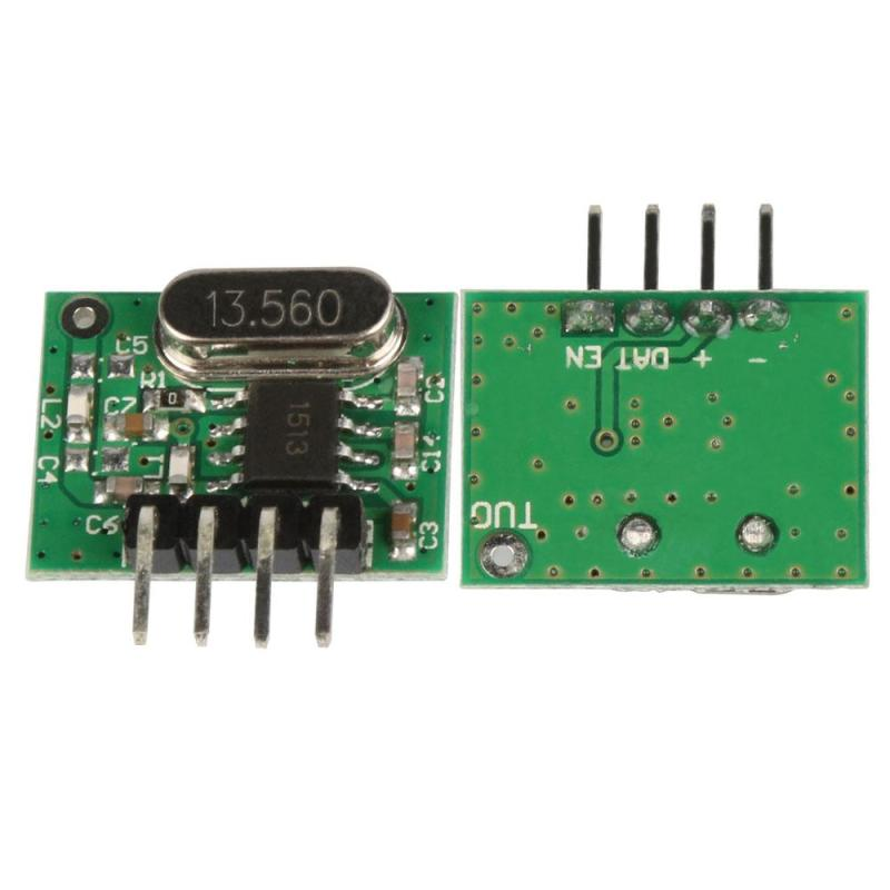 QIACHIP Wireless 433MHz Relay Remote Control Switch Transmitter Receiver Switch Learning Button Receiver Module For DIY DS30