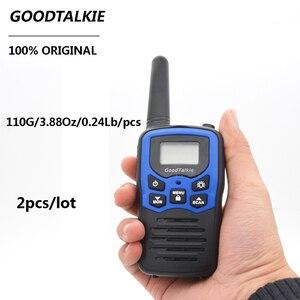 Image 5 - 2 pz/lotto GoodTalkie T5 Palmare Wookie Talkie viaggi zaino in spalla walkie talkie 5km Portatile A Due Vie Radio