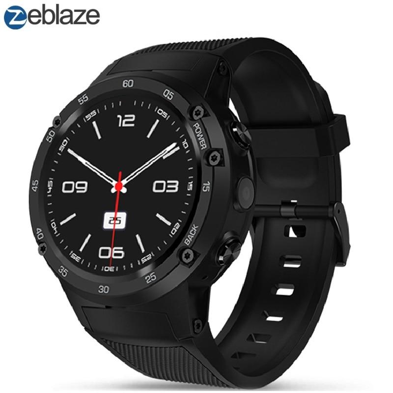 Zeblaze THOR 4 4 גרם Smartwatch טלפון 1.39 inch אנדרואיד 7.0 MTK6737 1.1 ghz Quad Core 1 gb 16 gb 5.0MP מצלמה 580 mah חכם שעונים