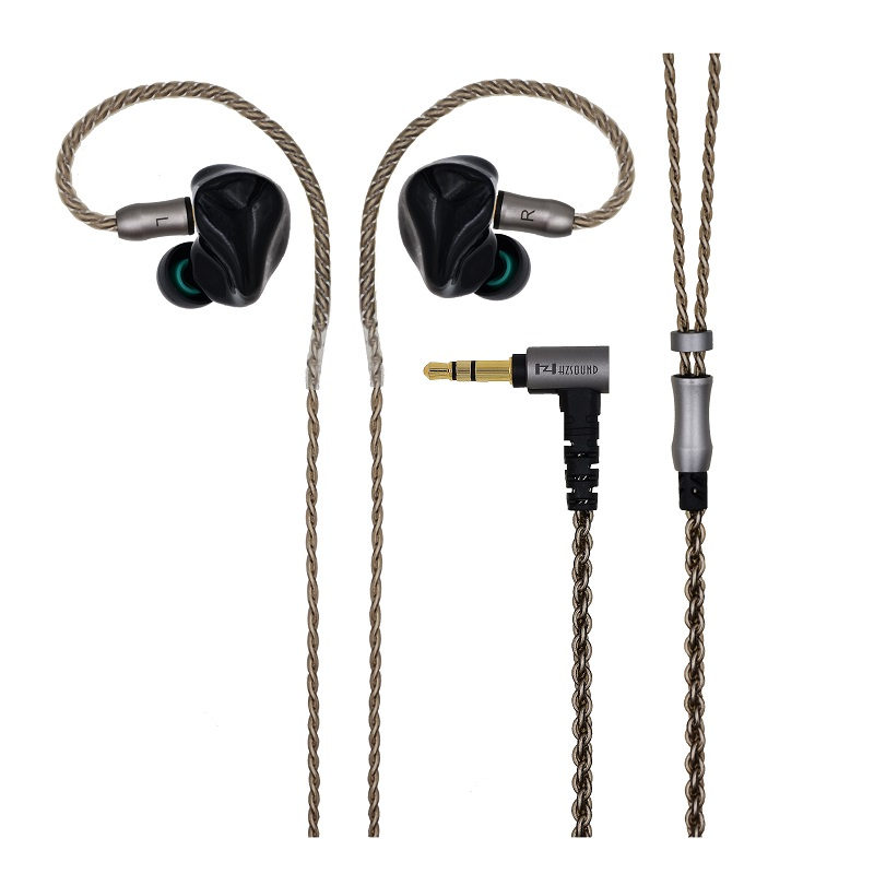 Newest HZ In Ear Earphone 6BA +6BA Unit HIFI Monitor 3D Print Customized Earphone Sports Headset with mmcx port Free Shipping 2016 senfer 4in1 ba with dd in ear earphone mmcx headset with upgrade cable silver cable hifi earbuds