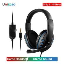 3.5mm Wired Headphones Gaming/Gamer Headset Game Earphones w