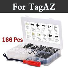 166x Push Assortimento Fermo Set di Rimozione Con Storage Case Rivetti Per Tagaz Aquila C10 C190 C-Road Partner Tager Vega