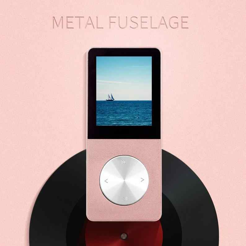 2019 Aluminum Alloy 16GB MP3 Player with Built-in Speaker HIFI player mp 3 Walkman mp 4 player video Lossless music mp4 player