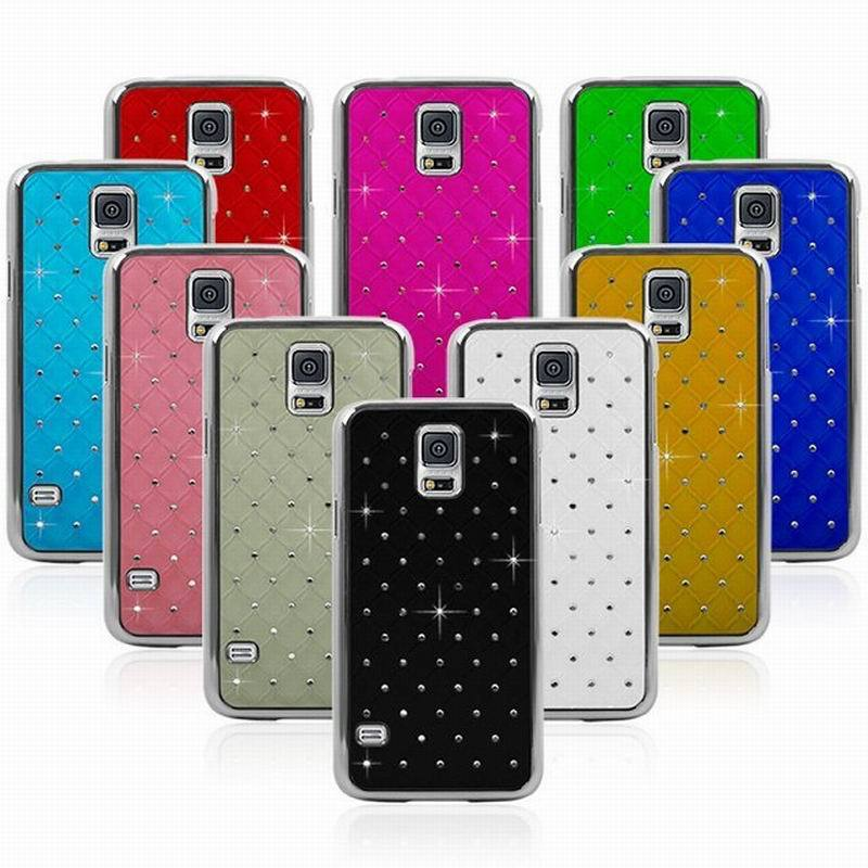 shell rhinestone bling protective case for samsung galaxy s5 covershell rhinestone bling protective case for samsung galaxy s5 cover starshine lover female male cell phone case