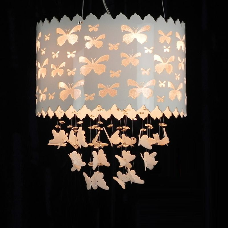 Schmetterling Pierced Prinzessin Room Pendelleuchte Kreative ...