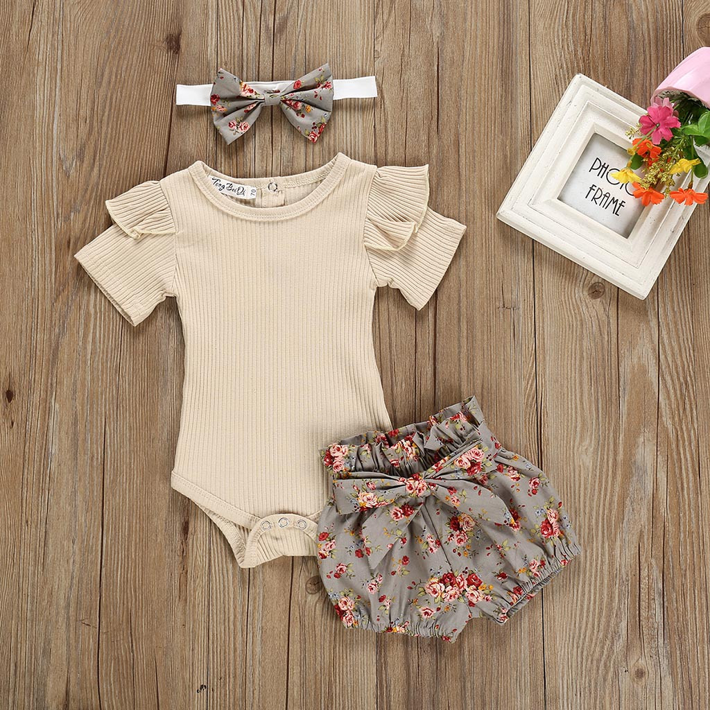 2pc Toddler Baby Girl Fruit Carrots Print Bow Princess Dress Casual Clothes|+Hat
