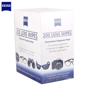 Image 1 - Pre Moistened Zeiss Anti Fog Bacteria Germs No Steaks for Mobile Phone Eyeglasses Cloth Camera Cleaner Lens Wipes 200pcs