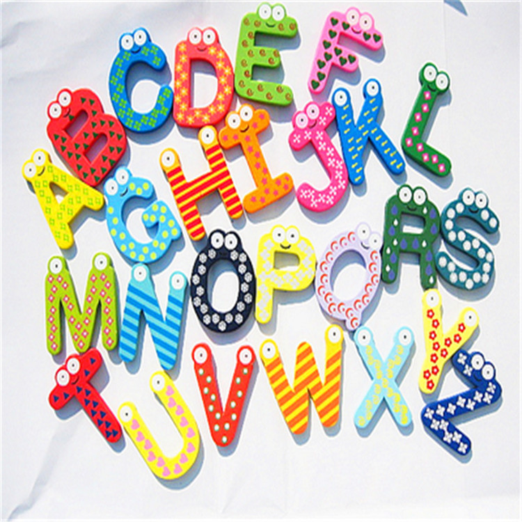 Refrigerator Magnets For Kids Creative Alphabet Fridge